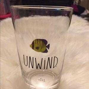 "Rae Dunn Glass | Fish 🐠 | ""Unwind"""